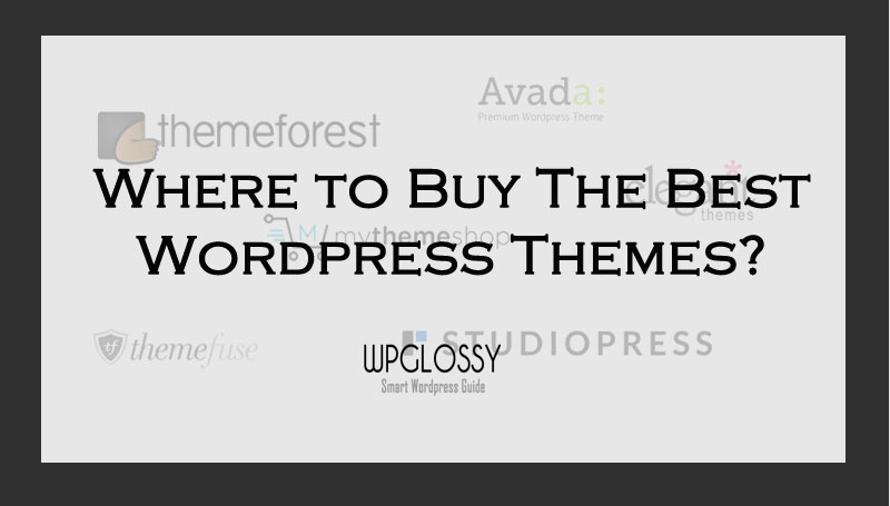 5 Best Places To Buy WordPress Themes