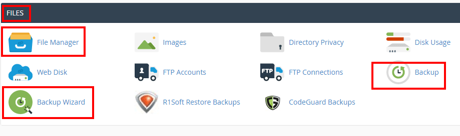 wordpress-manual-backup-cpanel