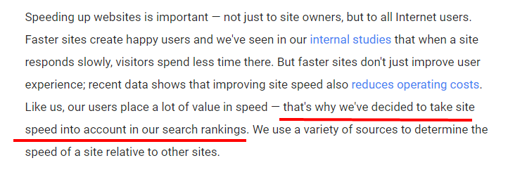 site-speed-ranking-factor