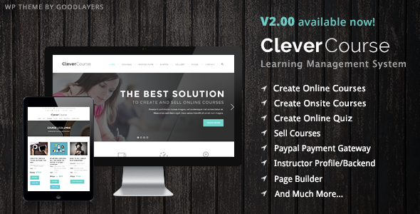 clevercourse-wp-theme