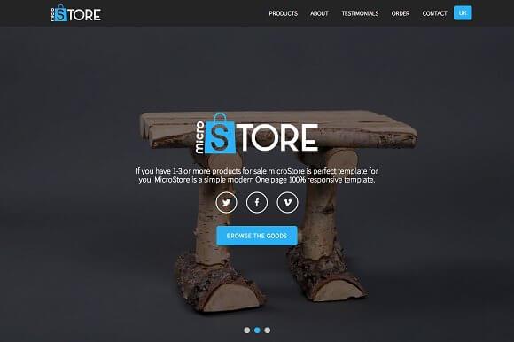 micro store ecommerce genesis theme