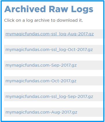 log file to deny ip