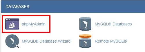 phpmyadmin-wp-optimize-database