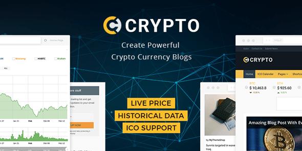 crypto-wordpress-theme